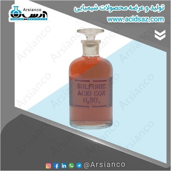 ساختار مولکولی اسید سولفوریک